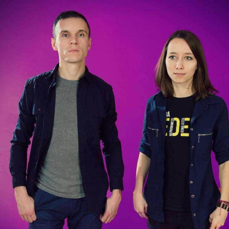 Андрей Лугин и Алена Полочанская