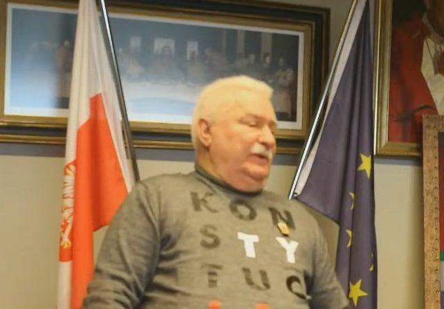 Präsident Lech Walesa