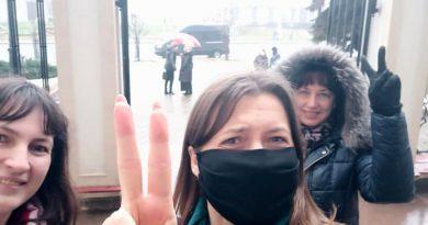 После мессы в ИВС. Как 65-летняя католическая верующая получила штраф за зонт после посещения костела